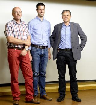 Philipp Heri, Othmar Erhart und Philipp Hadorn